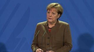 Merkel says