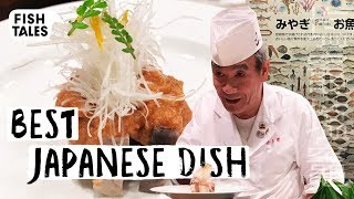 Cooking with a Japanese Sushi Master 鮟鱇の共和え | Bart van Olphen