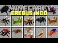 Minecraft EREBUS MOD l TRAVEL TO SCARY DIMENSION TO BATTLE EVIL BOSSES! l Modded Mini-Game