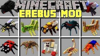 Minecraft EREBUS MOD l NOOB vs PRO SCARY BOSSES / MONSTERS in MINECRAFT! l Modded Mini-Game