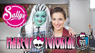 Monster High Frankie Stein Make-Up Tutorial / Kinderschminke
