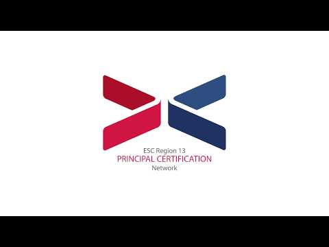 Region 13 Principal Certification Network