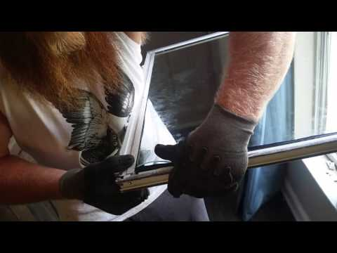 $17 DIY single hung window replacement.
