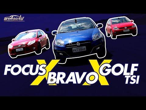 FORD FOCUS X VW GOLF TSI X FIAT BRAVO T-JET - VOLTA RÁPIDA #30 COM RUBENS BARRICHELLO | ACELERADOS