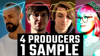 4 PRODUCERS FLIP THE SAME SAMPLE ft. Einmusik, Jonas Saalbach , Bebetta, biskuwi  ft. Sneaky Snitch