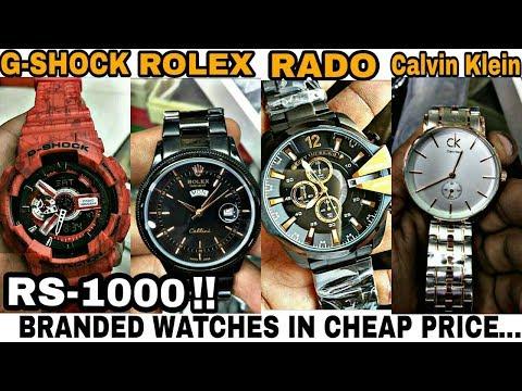 Chor Bazaar Hyderabad Branded Watches In Cheap Price