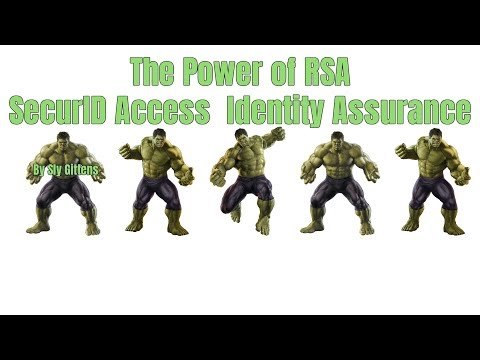 The Power of RSA SecurID Access Identity Assurance