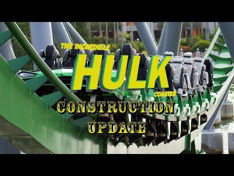 Universal Orlando Resort Construction Update 7.22.16 NEW HULK DISCOVERIES, F&F, Fallon and More!
