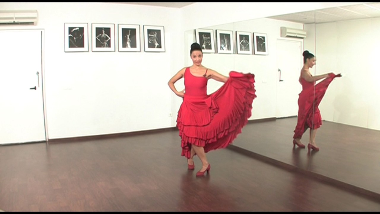 La Forma De Bailar Los Tangos Flamencos Youtube