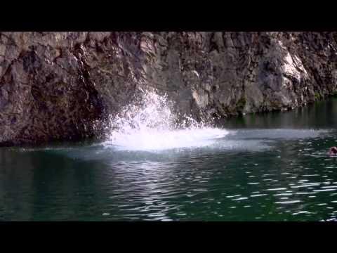 Cliff Jumping - Woodstock NB