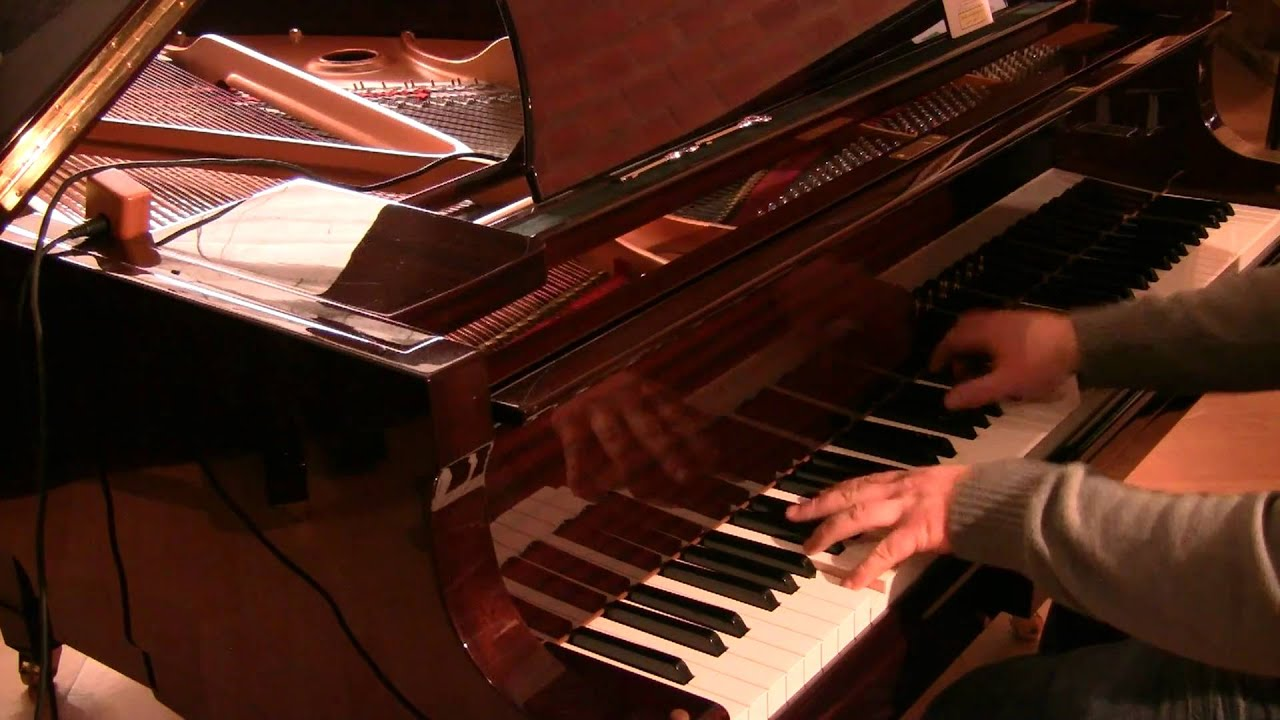 Yamaha C1 Baby Grand Piano As Demonstrated By Sherwood