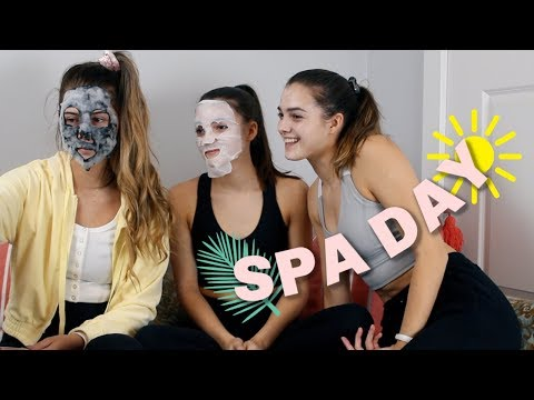 we gave ourselves an at home spa day