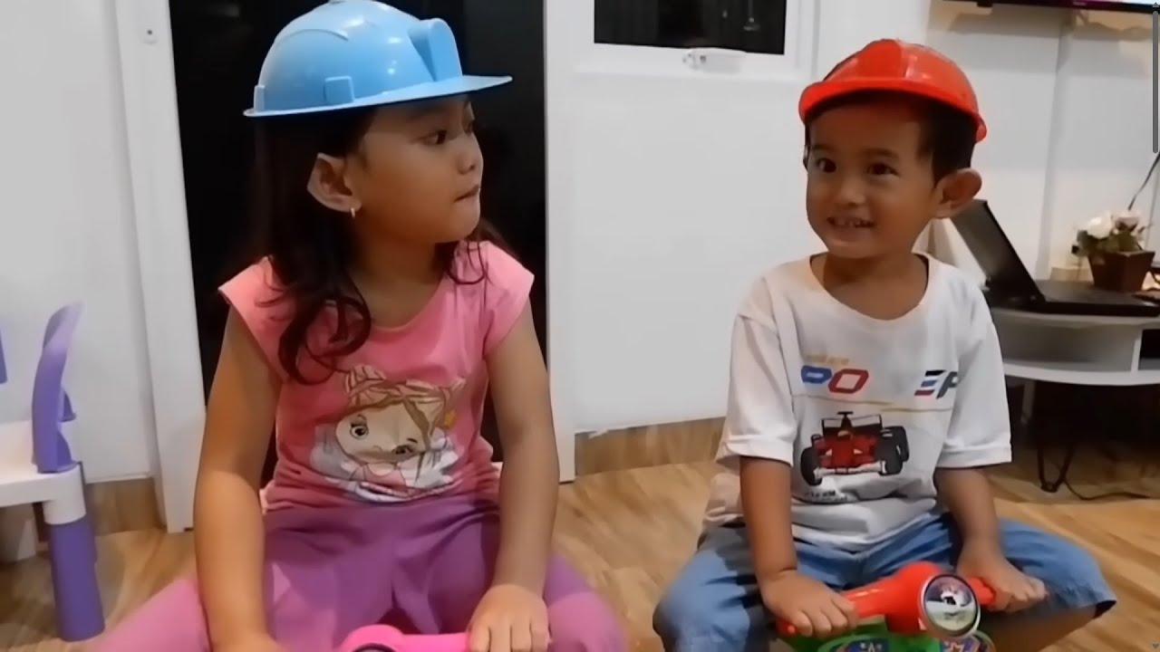 Gawat 😰 Sepeda Ali Rusak - Balapan Sepeda | Salsa and Family