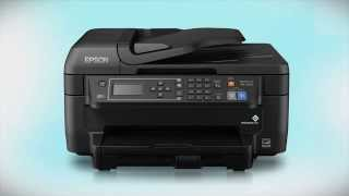 Epson WorkForce WF-2650 | Wireless Setup Using the Printer's Buttons