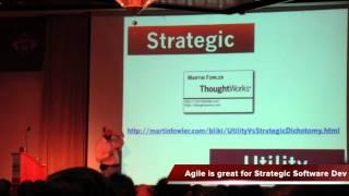Martin Fowler on Strategic and Utility Software