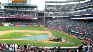 Texas Rangers Stadium Tour!!!