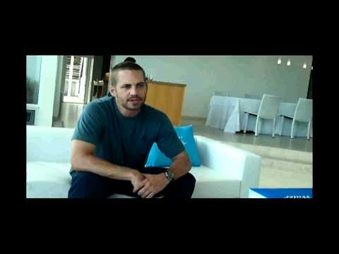 Paul Walker and Davidoff Cool Water Interview - Unedited.