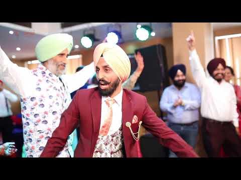 Gagan & Mandeep || Surprise Engagement Dance ||