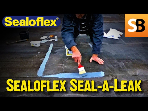Using Flex Seal As Seen On Tv To Prevent A Roof Leak Doovi