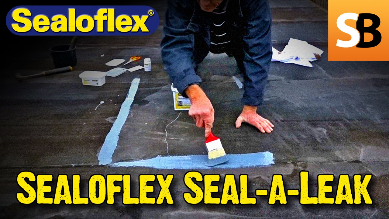 How To Fix A Leaking Flat Roof With Sealoflex Seal A Leak