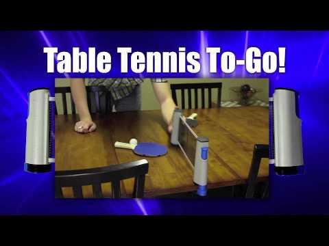 Sportcraft - Anywhere Table Tennis - YouTube