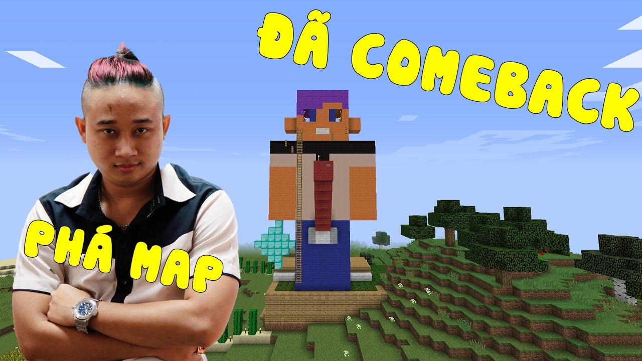Tuấn Khó Đỡ comeback phá map Minecraft ? Tuấn Khó Đỡ là ai?