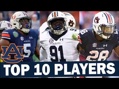 Ranking The Auburn Tigers' Top 10 Players For 2019