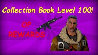 Collection Book niveau 100 récompenses!! Fortnite: Sauvez le monde