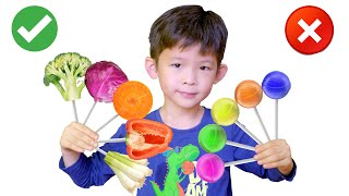 Learn Colors with Vegetables by Xavi