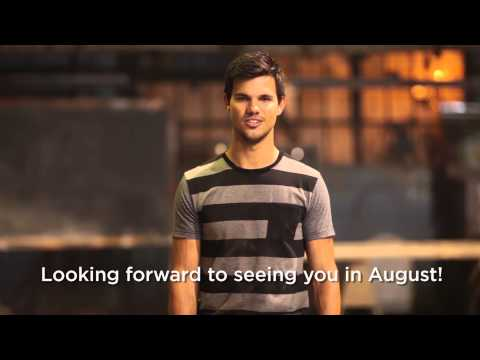 Taylor Lautner for BENCH/ in Manila: August 2013