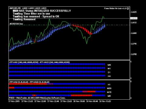 The no loss automated forex robot