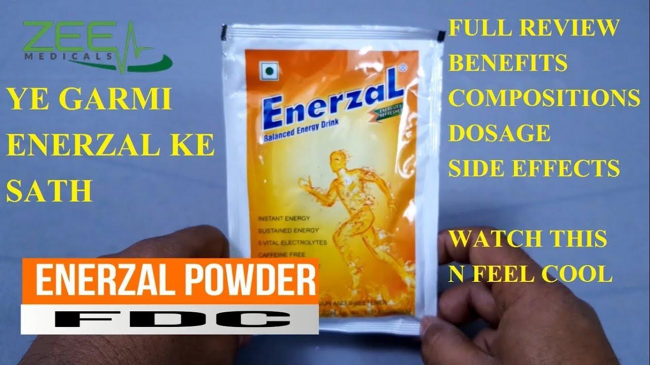 Enerzal powder full review best energy drink गर्मी में