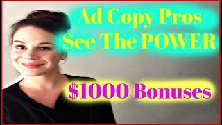 Ad Copy Pros Review - How To Make $100 A Day - Legitimate Ways To Make Money Online Fast From Home