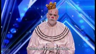 Puddles, klaun ze złamanym sercem w amerykańskim Mam Talent