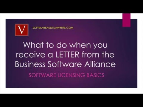 What to do when your business receives a letter from the BSA
