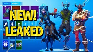 *NEW* Fortnite Leaked Skins & Emotes! (Whirlwind, Slick, IDK, Flux, The Ice Queen...)