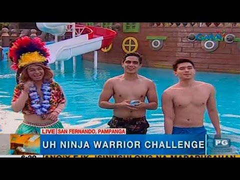 Unang Hirit: Ninja warrior challenge sa San Fernando, Pampanga!