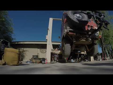 FJ40 DIY Axle Rebuild: Tonto goes to Tucson