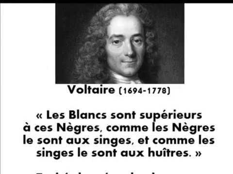 le racisme envers les noirs chez les grands philosophes des lumière française