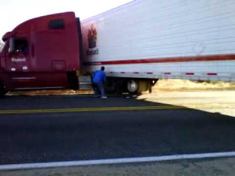 stupid truck driver youtube