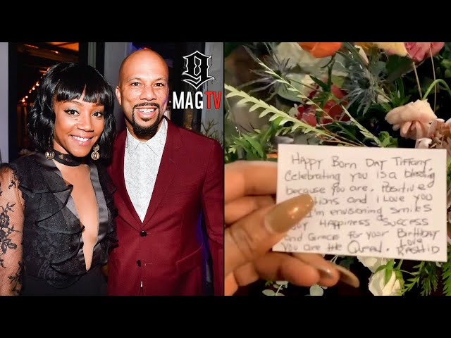 """Tiffany Haddish Gets Flowers From \""""BF\"""" Common For Her 41st B-Day! 💐"""