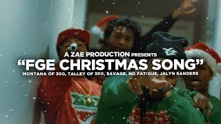 Смотреть клип Montana Of 300 X $Avage X To3 X Jalyn Sanders X No Fatigue - Fge Christmas Song