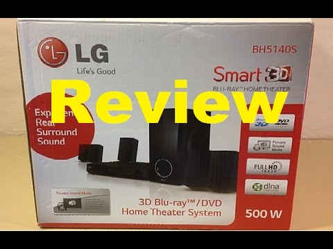 Review of LG Home Theater BH5140S
