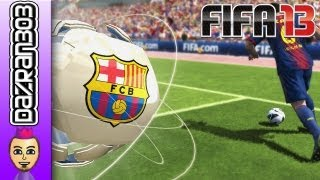 FIFA 13 Wii U BARCELONA Vs WIGAN ATHLETIC WiiU Gameplay Commentary Dazran303