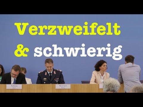 27. Juni 2018 - Sehenswerte Bundespressekonferenz - RegPK