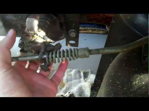 Brake & Clutch Maintenance on Craftsman Lawn Tractor