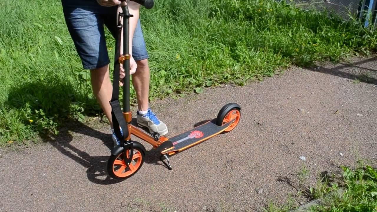 Самокат RZ scooter для взрослых SAMOKATCLUB.RU - YouTube