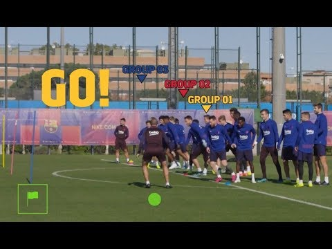 At Barcelona it's Lionel Messi, Pique and the players who hold the ...