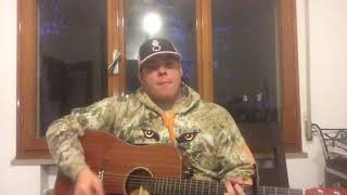 """She got the best of me"" by Luke Combs cover"