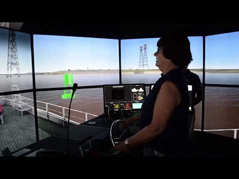 Lakewood Members Drive Ship Simulators at Maritime Training Center